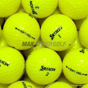 Srixon Soft Feel Yellow