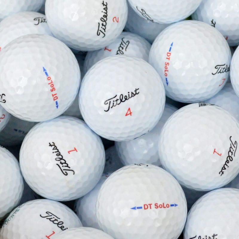 Titleist DT Solo Lake Balls