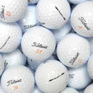 Titleist Velocity Lake Balls
