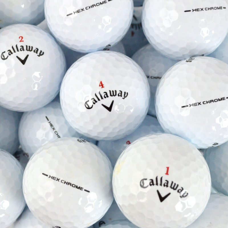 Callaway Hex Chrome Lake Balls