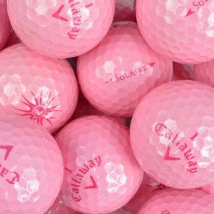 Callaway Solaire Pink Lake Balls