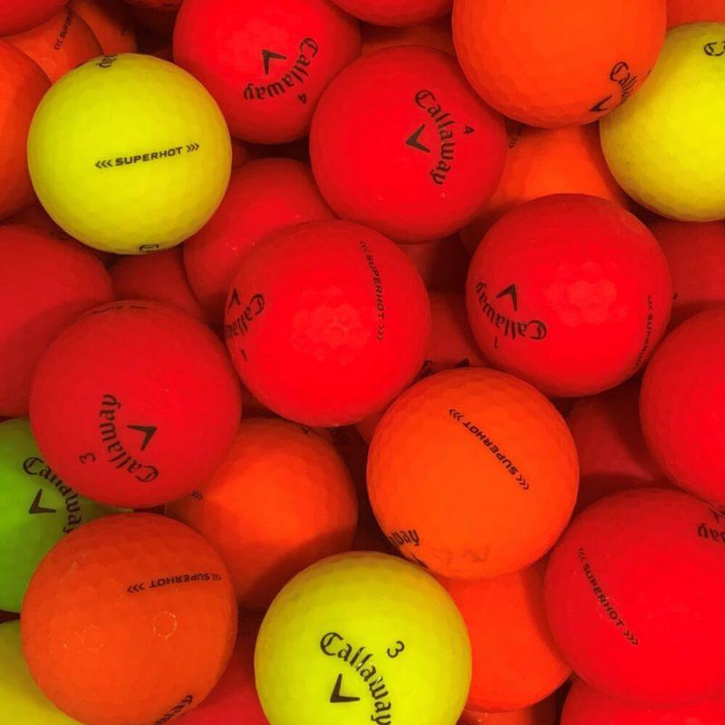 Callaway Superhot Bold Lake Balls