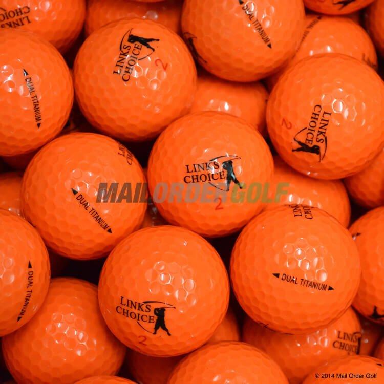 Links Choice Golf Balls Optic Orange
