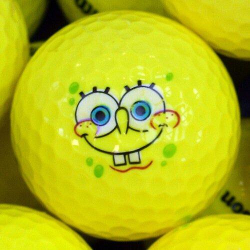 Wilson Spongebob Golf Ball