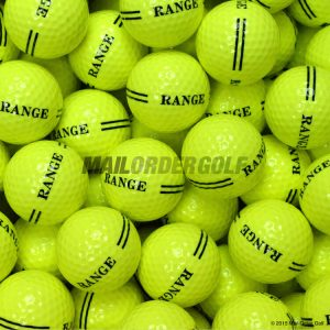 2 Piece Yellow Range Balls