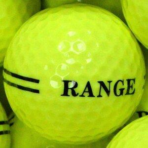 2 Piece Yellow Range Balls Single