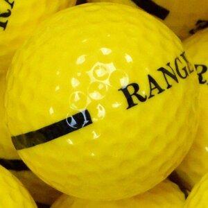 One Piece Range Ball Yellow Single