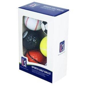 PGA Tour Fun Sport Golf Balls Packaging