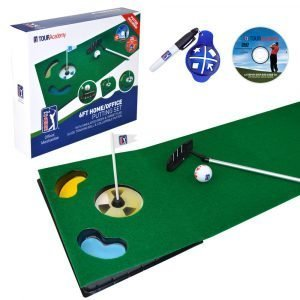 6ft Putting Mat with Collapsible Putter All