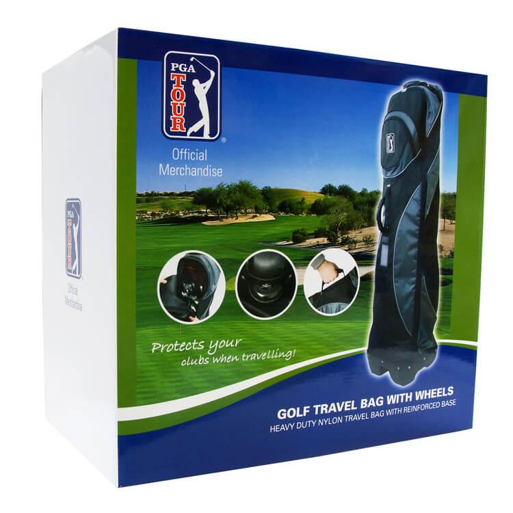 PGA TOUR Protective Golf Bag Travel Case Box