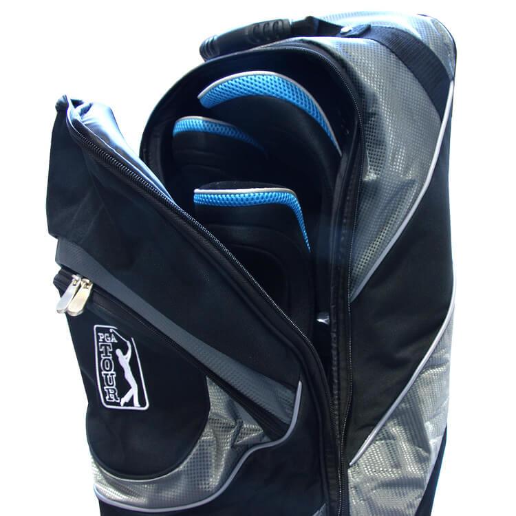 PGA TOUR Protective Golf Bag Travel Case Top Open