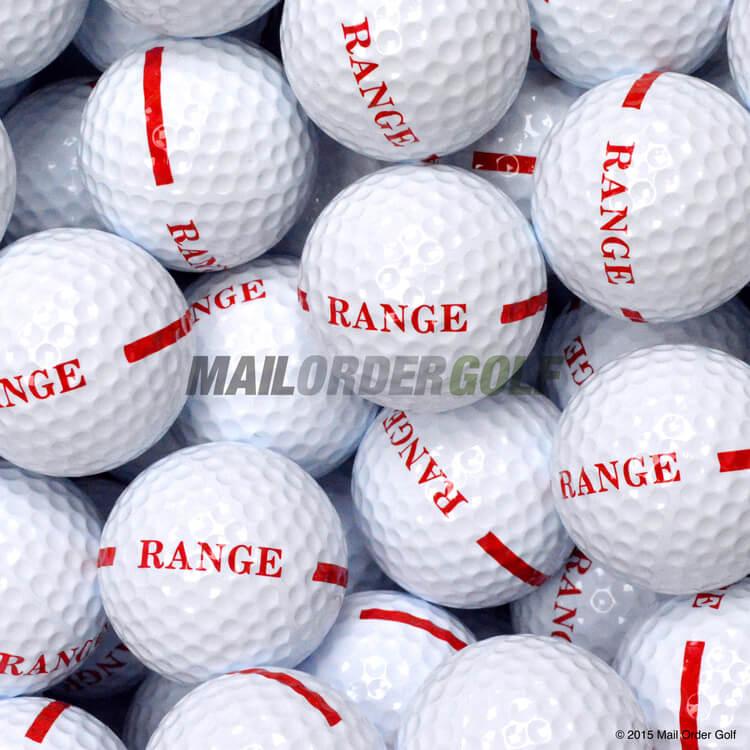 One Piece Range Balls White