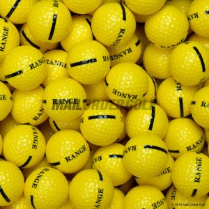 1 Piece Yellow Range Balls