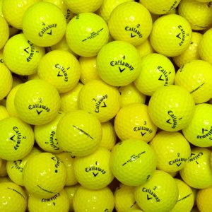 Callaway Yellow Lake Balls