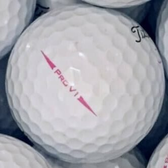 Titleist Pro V1 Pink Lake Ball