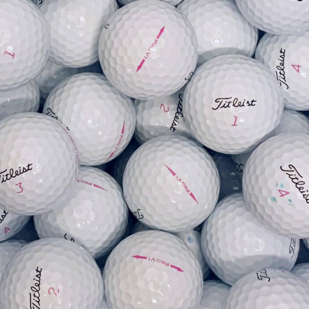 Titleist Pro V1 Pink Lake Balls