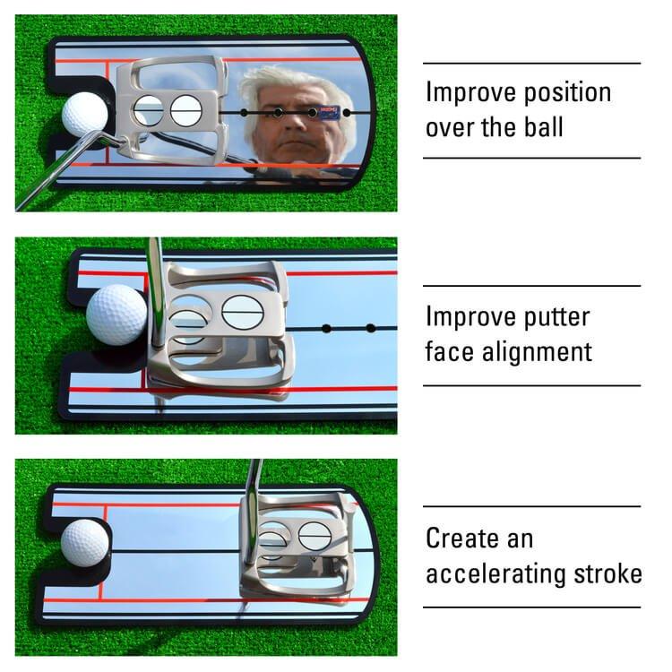 PGA TOUR 4-Sight Golf Putting Mirror How to Use