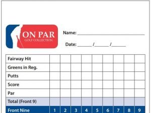 On Par Scorecard Banner