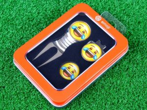 Emoji Laughing Divot Tool & Marker Lifestyle Banner