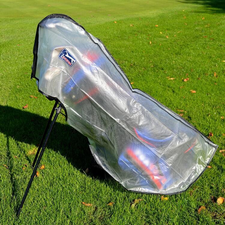 PGA TOUR Golf Bag Rain Cover Lifestyle