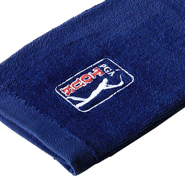 PGA TOUR Golf Towel Close Up