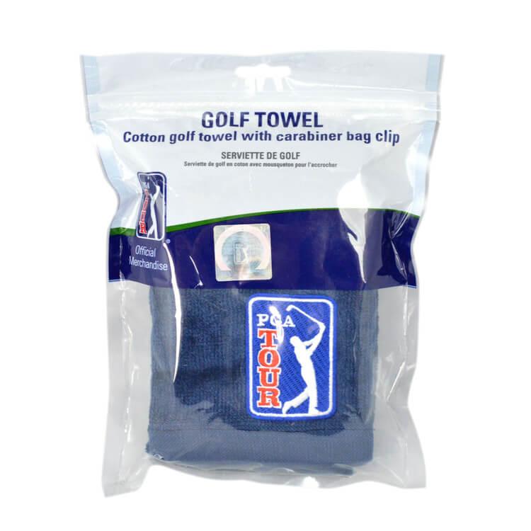 PGA TOUR Golf Towel Packaging