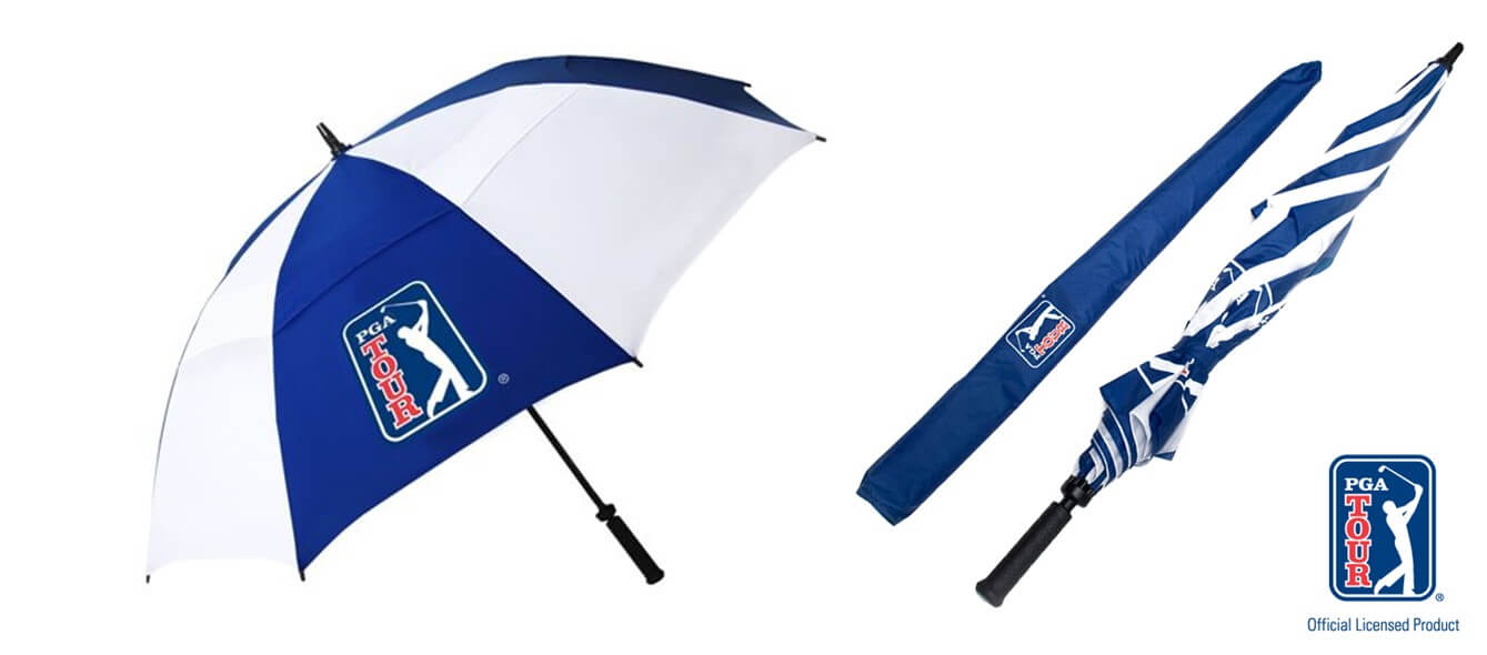 PGA TOUR Golf Umbrella Windproof Banner