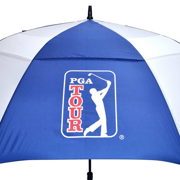PGA TOUR Golf Umbrella Windproof Logo