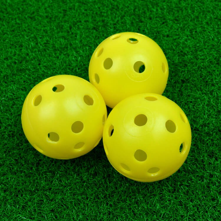 PGA TOUR 24 Practice Air Flow Golf Balls 2 Yellow