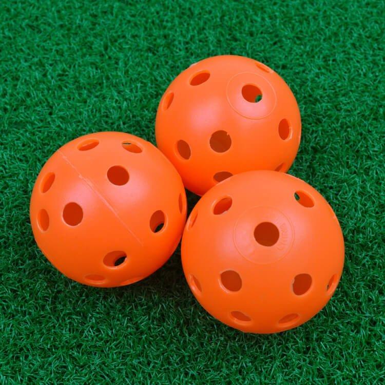 PGA TOUR 24 Practice Air Flow Golf Balls 3 Orange