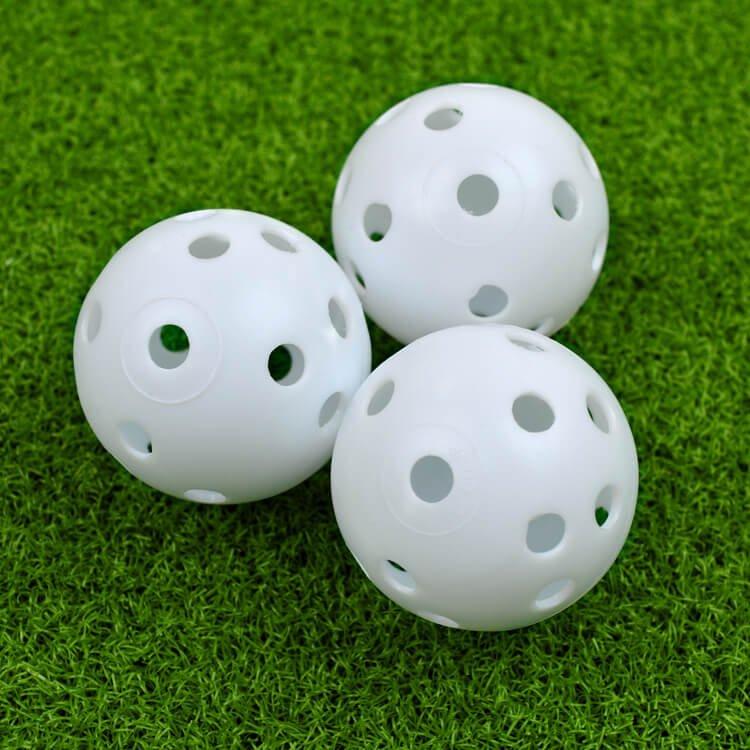 PGA TOUR 24 Practice Air Flow Golf Balls 3 White
