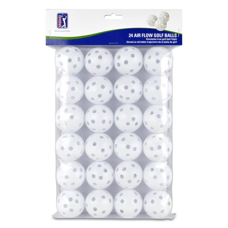 PGA TOUR 24 Practice Air Flow Golf Balls White