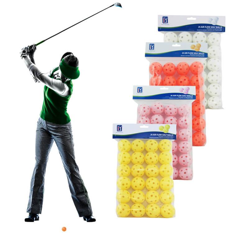 PGA TOUR 24 Practice Air Flow Golf Balls