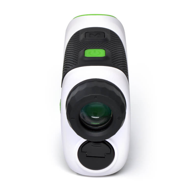 Easygreen OLED Pro Rangefinder back view on a white background