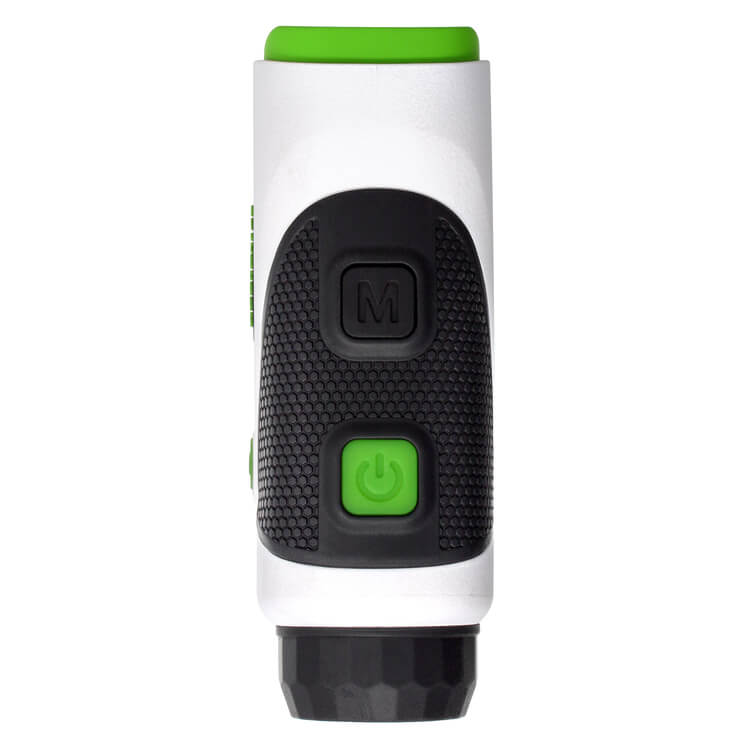 Easygreen OLED Pro Rangefinder top view on a white background