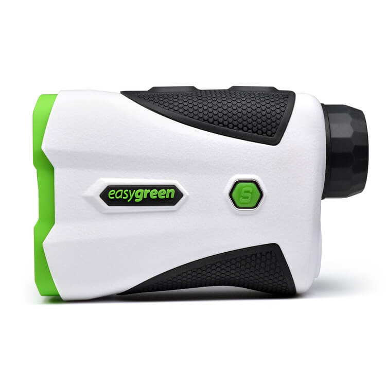 Easygreen OLED Pro Rangefinder sideview on a white background