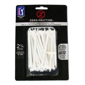 PGA Tour 40 Zero Friction Tees
