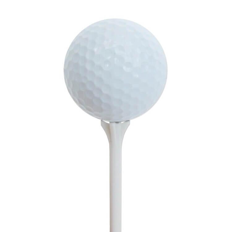 PGA Tour 40 Zero Friction Tees Ball on Tee
