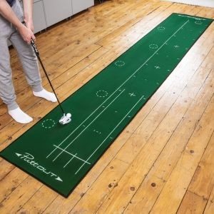 PuttOUT Large Pro Putting Mat Green Lifestyle