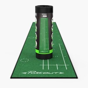 PuttOUT Large Pro Putting Mat Green Packaging