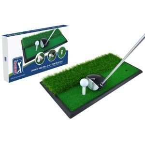 PGA TOUR Launch Pad Pro 2 In 1 Mat