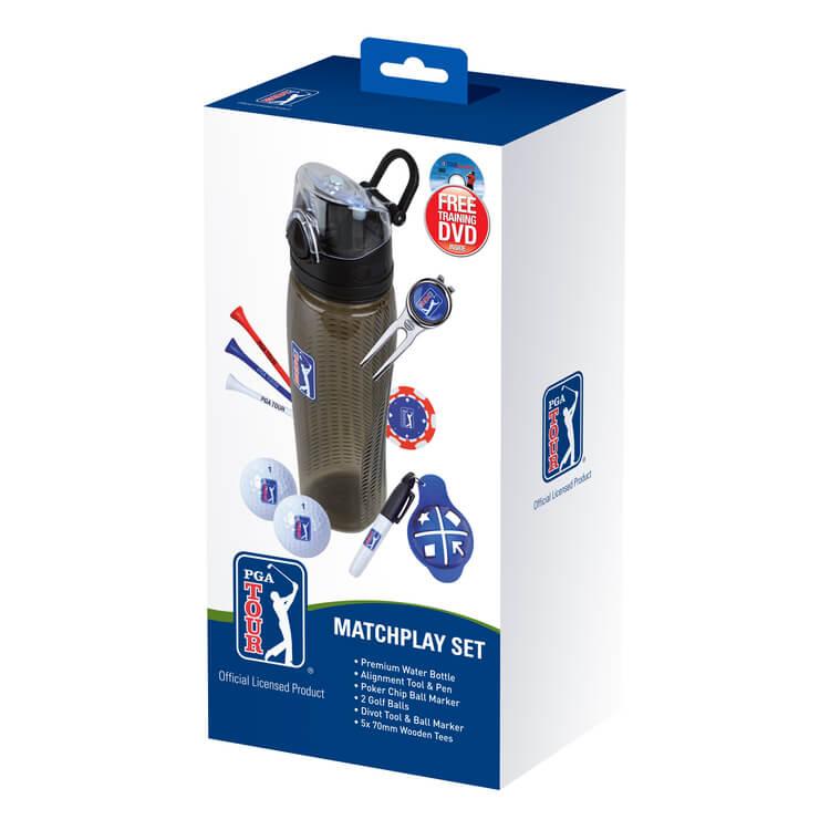 PGA TOUR Match Play Drinks Bottle Set Box