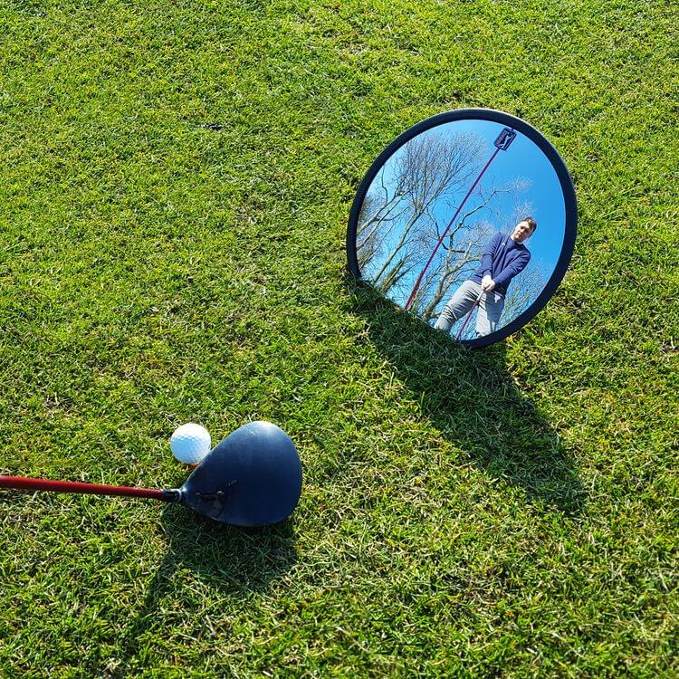 PGA Tour Full Swing Mirror Action Back