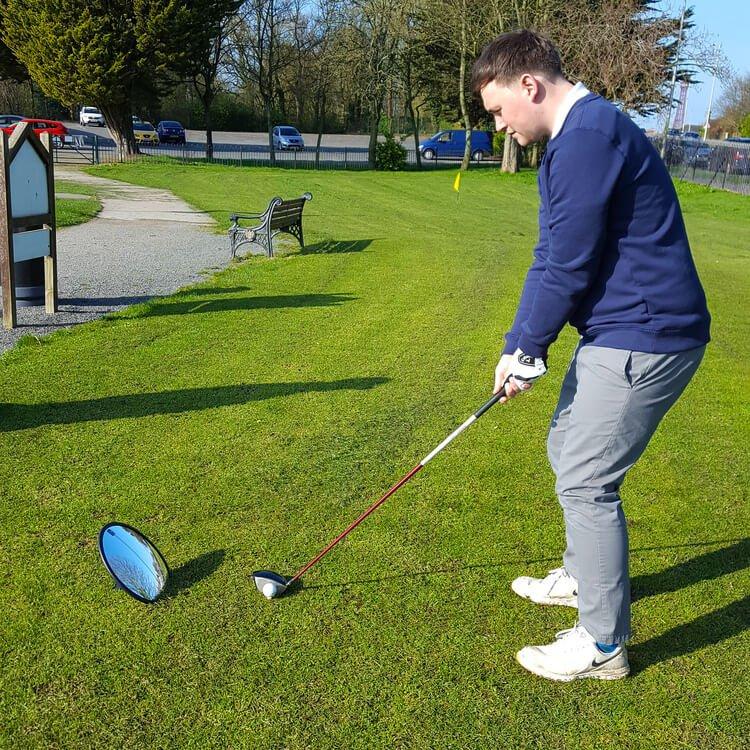 PGA Tour Full Swing Mirror Action
