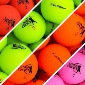 Links Choice Matte Optic Golf Balls
