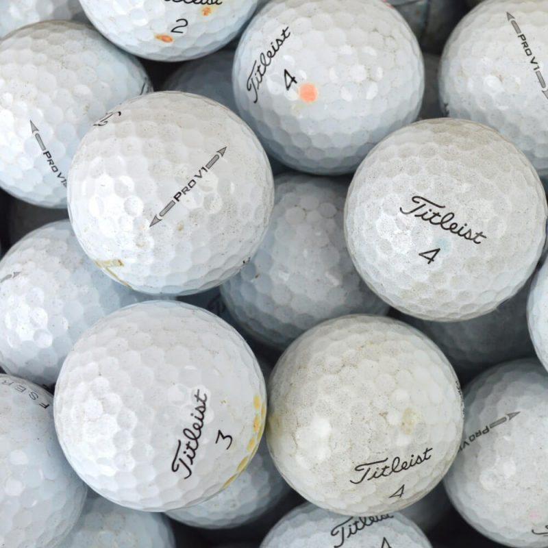 Titleist Pro V1 2015 Used Lake Balls