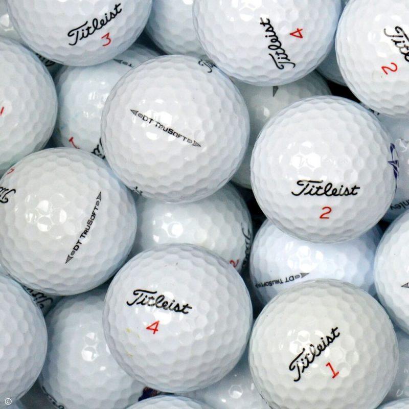 Titleist DT Trusoft Lake Balls