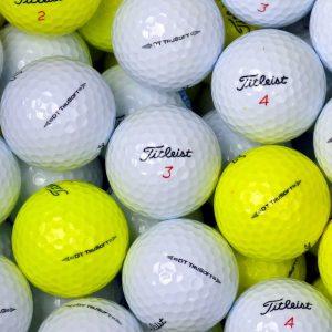 Titleist DT Trusoft White & Yellow Lake Balls