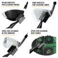 PGA Deluxe Dual Sided Golf Club Brush and Groove Cleaner Group Shot