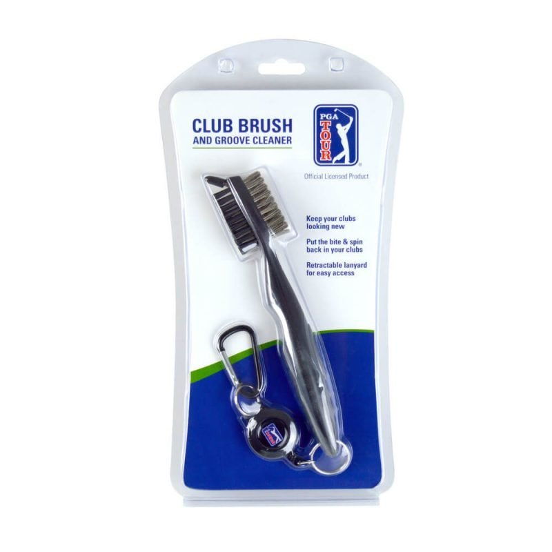 PGA Deluxe Dual Sided Golf Club Brush and Groove Cleaner Packaging